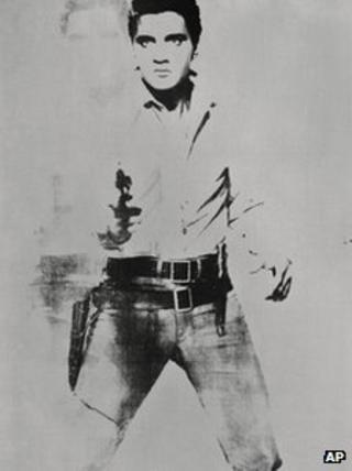 Double Elvis (Ferus Type) by Andy Warhol