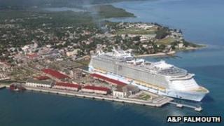 Falmouth Port, Jamaica