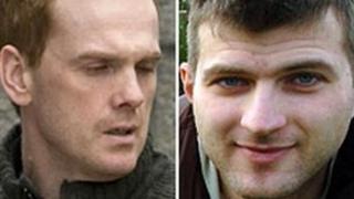 Robert McCulloch (left) [Pic: Newsline] and Roman Romasov [Pic: Aberdeen Evening Express]