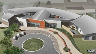 Artist impression of the centre in Prestwich