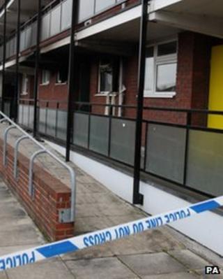 Guildford explosion scene