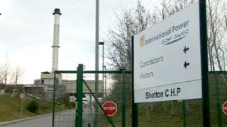 Shotton Combined Heat and Power plant