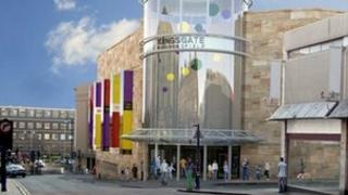 Kingsgate Shopping Centre in Huddersfield