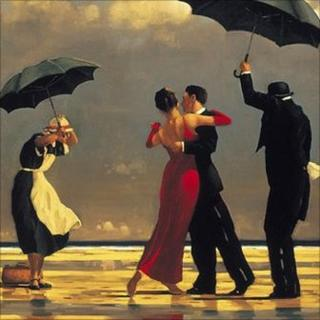 Vettriano's the Singing Butler