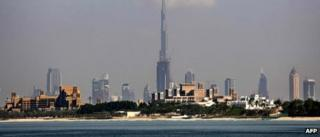 Dubai skyline 2011
