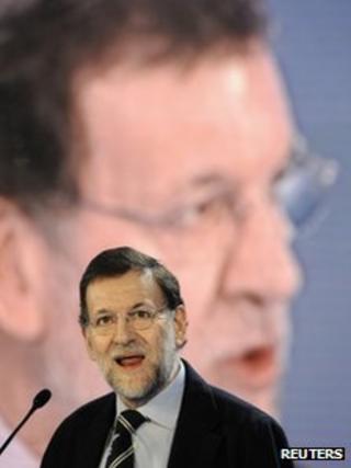 Spanish PM Mariano Rajoy (17 March 2012)