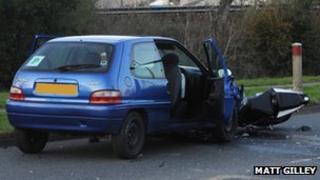 Plympton fatal collision