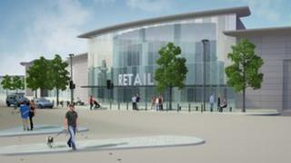 Artist's impression of the Western Gateway. Photo: Middlesbrough Council