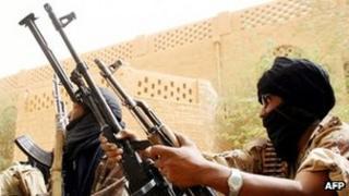 Malian soldier in Kidal (file photo)