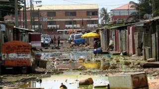 Slum in Luanda