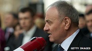 Moldovan President Nicolae Timofti