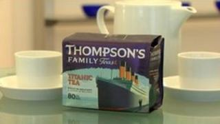 Branded teabags