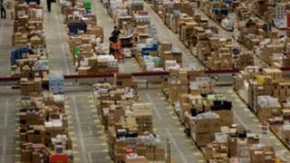 Amazon depot, Milton Keynes