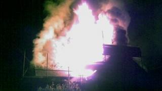 Fire at Charlton Marshall