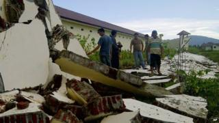 Indonesia hit by earthquake