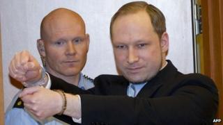 Anders Behring Breivik (6 Feb 2012)