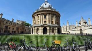 The Radcliffe Camera at Oxford