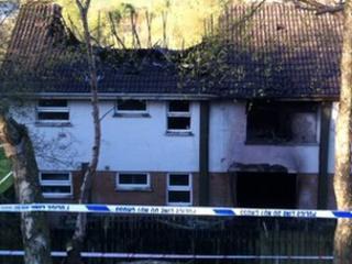 Two women were killed in the blaze
