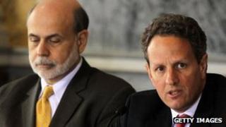 Bernanke and Geithner