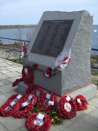 HMS Affray memorial