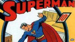 Cover of Superman No.1 comic book from 1939