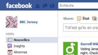 Jerriais Facebook