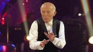 Paul Daniels on Strictly Come Dancing