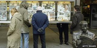 Newspaper readers in Norway