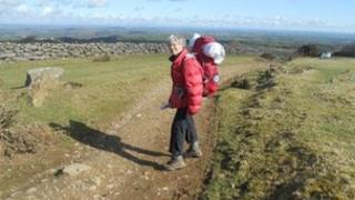 Marion Smith on her 1,120-mile walk