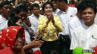 Aung Sung Suu Kyi