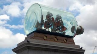 Nelson's Ship in a Bottle