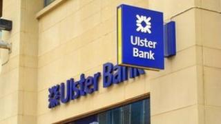 Ulster bank sign