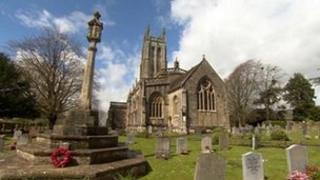 All Saints Church in Wrington