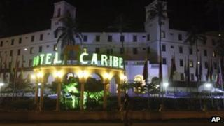 Hotel Caribe, Cartagena, Colombia 19 April 2012
