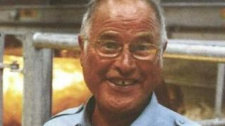 Barry Rubery, murdered pensioner from Iron Acton, South Glos