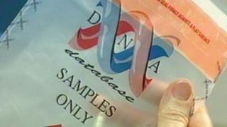 DNA sample bag
