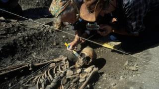 Excavation in Sweden