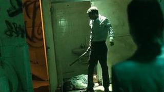 Scene from Silent Witness