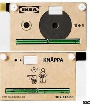 Ikea digital camera
