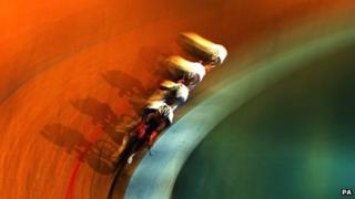 Great Britain's men's pursuit cycling team