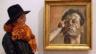 Lucian Freud exhibition