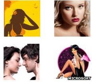 Microsoft's image examples