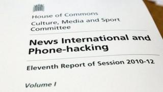 Copy of Culture committee report into phone hacking