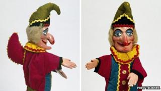 Mr Punch, Fred Tickner, 1975 © V&A Images Mr Punch from the Happy Birthday Mr Punch! exhibition at V&A Museum of Childhood 14 July - 9 December