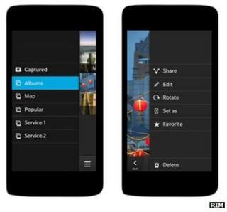 Blackberry 10 prototype handsets