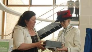 Princess Alexandra opens radiotherapy unit