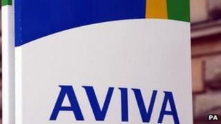 Aviva building in Norwich
