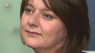 Leanne Wood, arweinydd Plaid Cymru