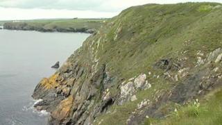 Cliffs at Mullion