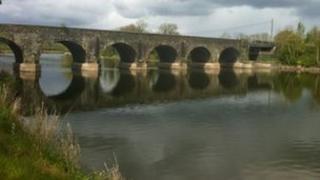 Bann Road bridge near Kilrea